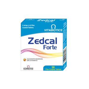 Suplemen Zedcal Forte Vitabiotics Gloherbal Bintang Kupu Kupu
