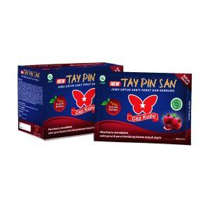 Obat Herbal Sakit Perut Diare Kembung New Tay Pin San Plus Cair Cap Kupu-Kupu Gloherbal Bintang Kupu Kupu